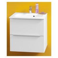 Toaletni ormarić ZENA sa kerrock umivaonikom OUZ 60 SBW - 529310
